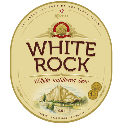 «WHITE ROCK» Beer beverage