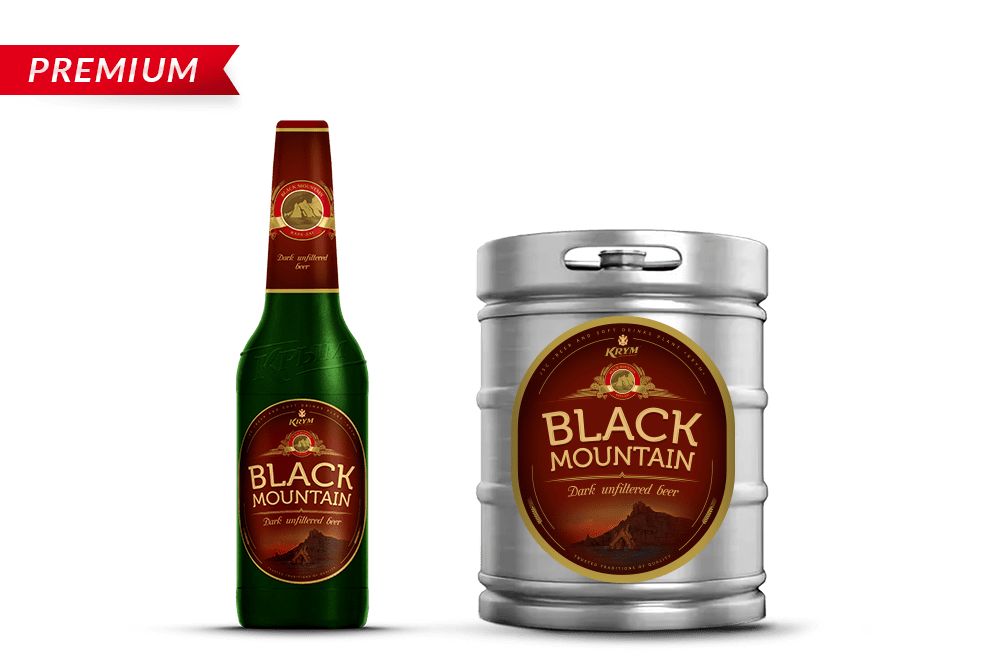 «BLACK MOUNTAIN» Beer beverage